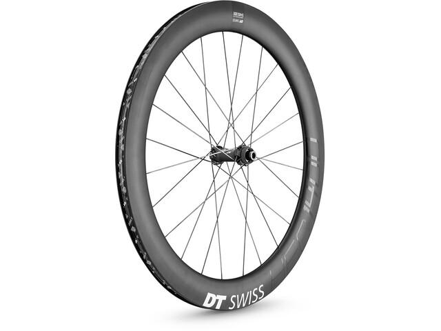 """DT Swiss HEC 1400 Spline 62 Front Wheel 28"""" Disc CL Carbon 100/12mm Thru-Axle"""